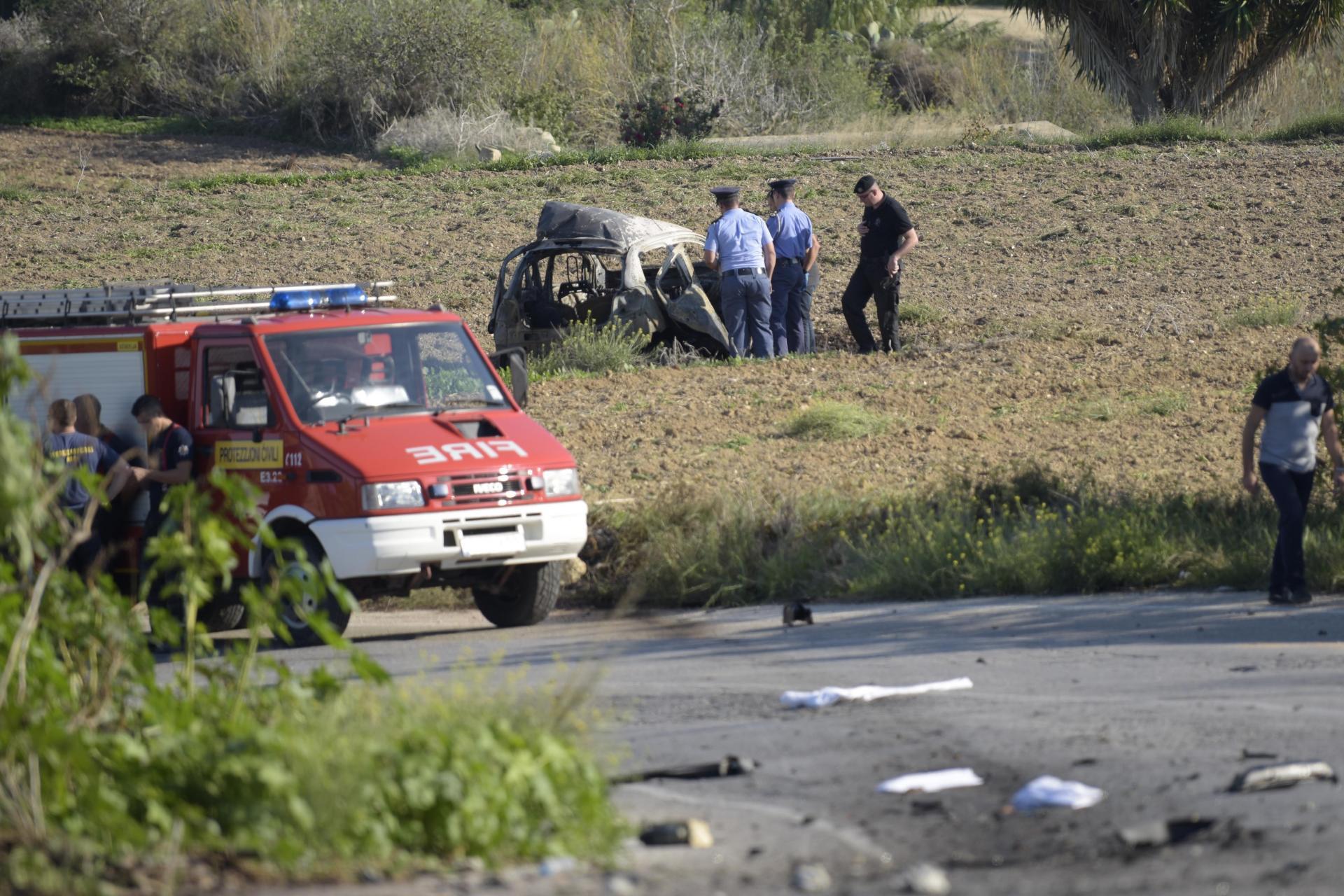 Daphne Caruana Galizia was killed by a car bomb outside her home in October 2017. Photo: Mark Zammit Cordina