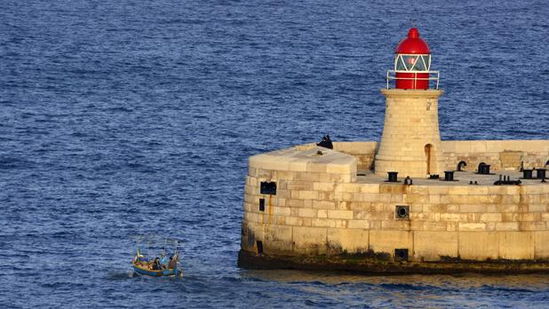 Grand Harbour Lighthouse. Photo: Mario Cucciardi