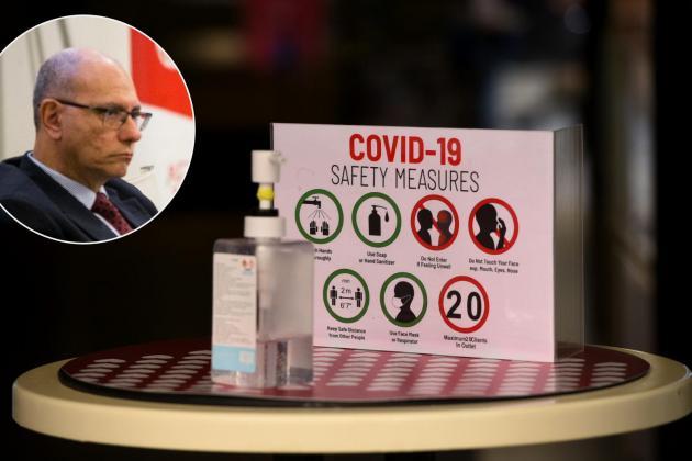 Doctors declare industrial dispute over COVID-19 coordinator's removal