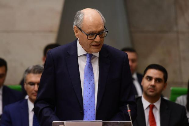 Edward Scicluna in parliament. Photo: Jonathan Borg