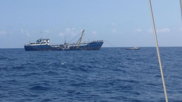 The vessel is being pulled to Marsa.