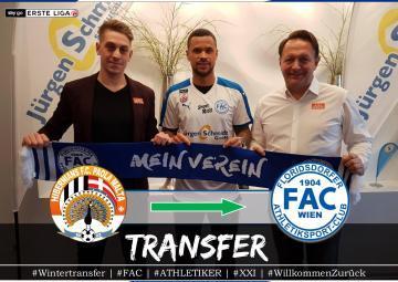 Marco Sahanek unveiled at Floridsdorfer AC.