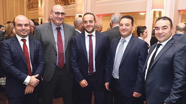 Sergio Bellizzi, Stefan Bonello, Carlos Abela, Roderick Abela and Mario Abela.