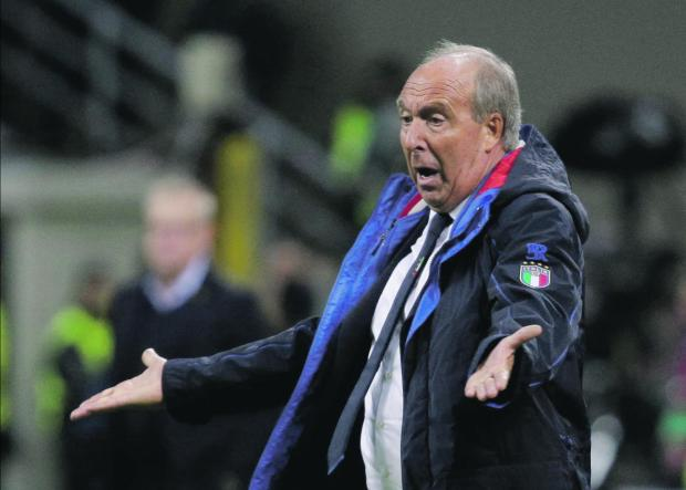 Giampiero Ventura is expected to be sacked from Italy coach.
