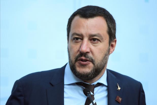 Matteo Salvini has upped his migration rhetoric.