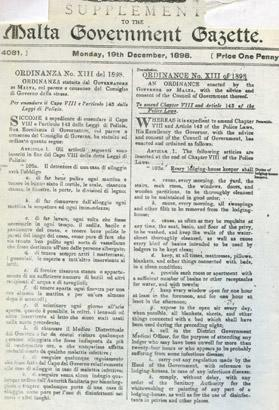 The 1898 ordinance which prohibited the running of brothels.