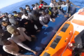 Watch: Nearly 1,300 rescued migrants arrive in Sicily over the weekend