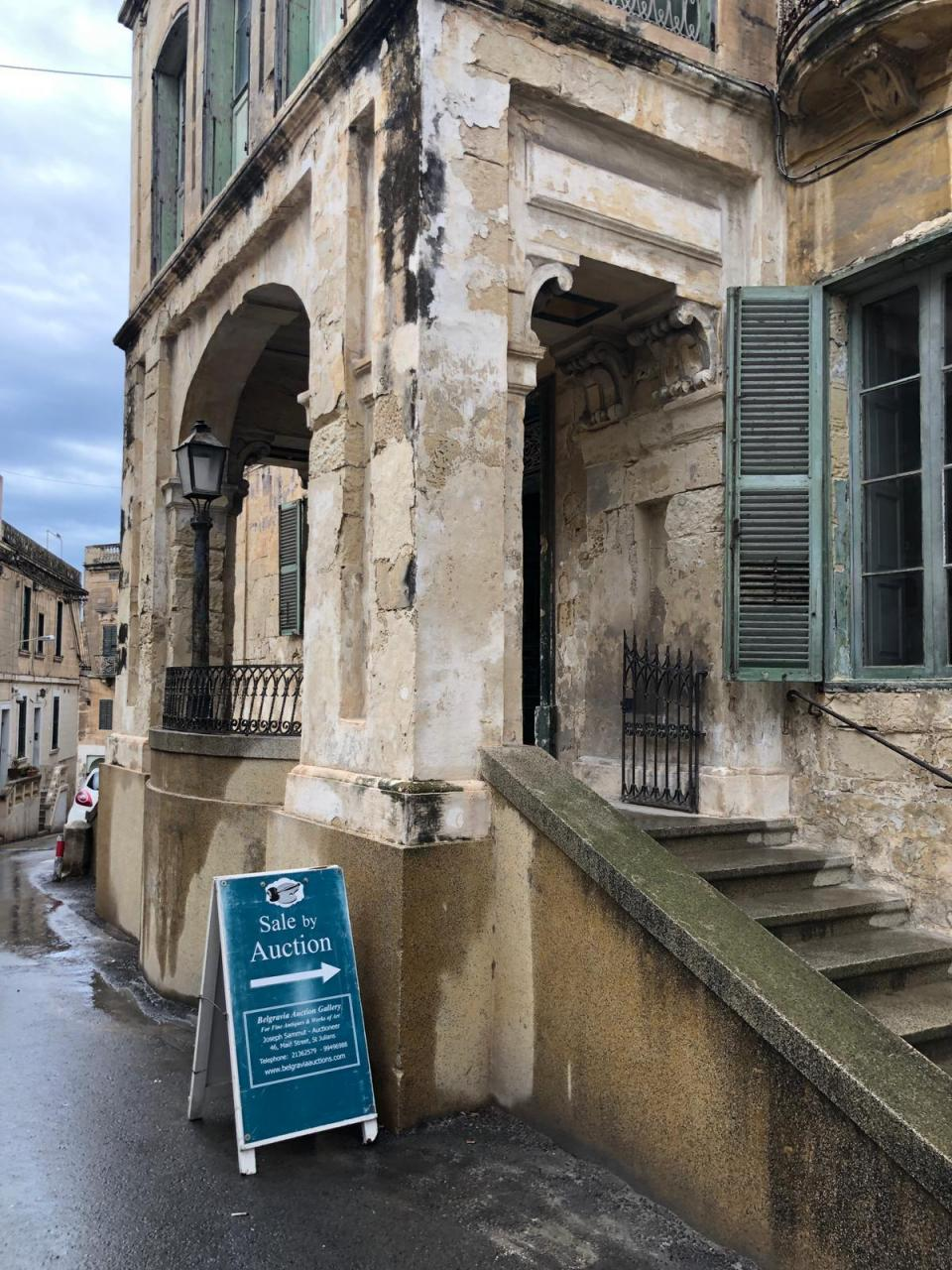 The Queen's former home in Malta is on sale - and so are its contents. Photo: Mario Cacciottolo
