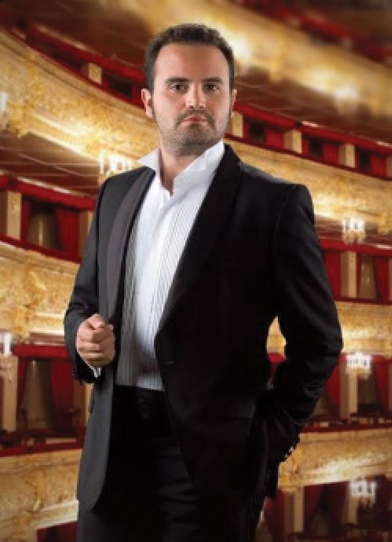 Baritone Joseph Lia, artistic director of the Malta International Organ Festival
