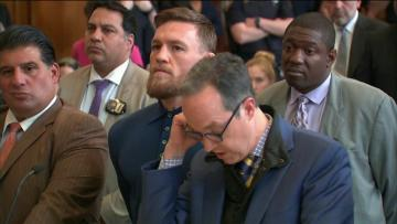 Watch: Mixed martial arts star McGregor pleads guilty to role in NYC melee | Video: AFP