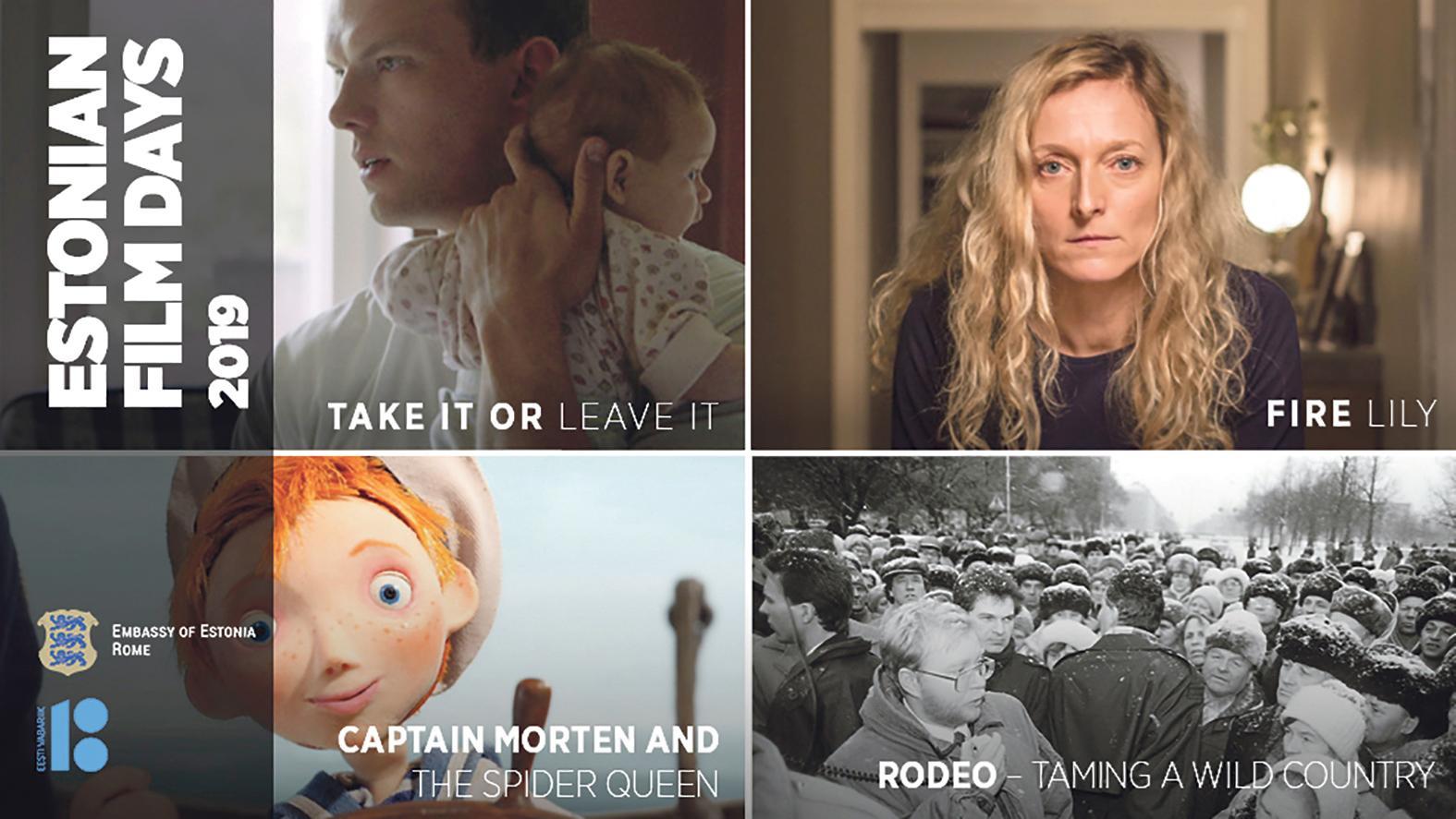 The Estonian Film Days 2019 poster.