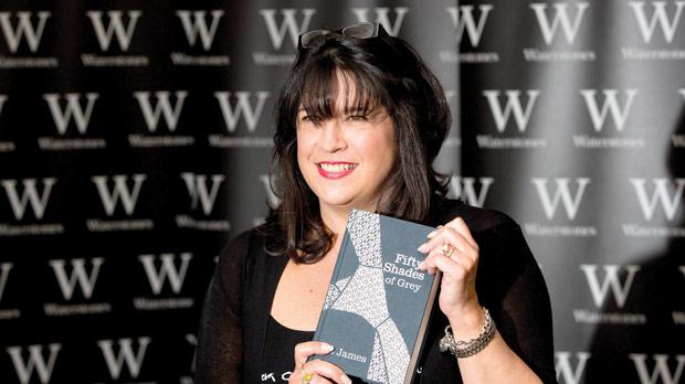 E. L. James, author of Fifty Shades of Grey, at a book signing in London. Photo: Reuters