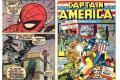 Comics standing up