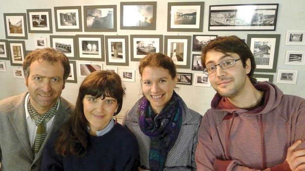 David Pisani (left) has joined forces with Elise Billiard, Julia Pallone and Mark Dingli.