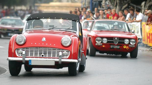 The Maltese love classic cars. Photo: Chris Sant Fournier