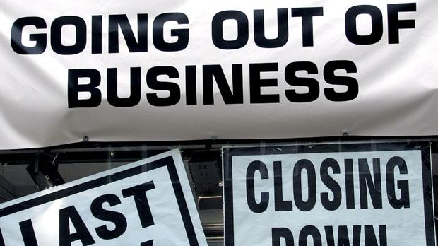 Eurostat statistics show that five out 10 businesses don't survive the first five years.