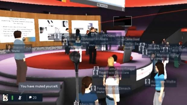 Virtual worlds allow students to create, to act out, to simulate, and to communicate with other avatars in an authentic setting.
