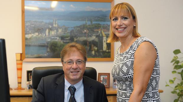 Steven Galea with his wife Stellina. Photo:Matthew Mirabelli