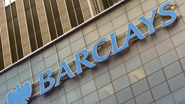 A Barclays sign on the exterior of the Barclays US corporate headquarters in the Manhattan borough of New York City. Photo: Mike Segar/Reuters