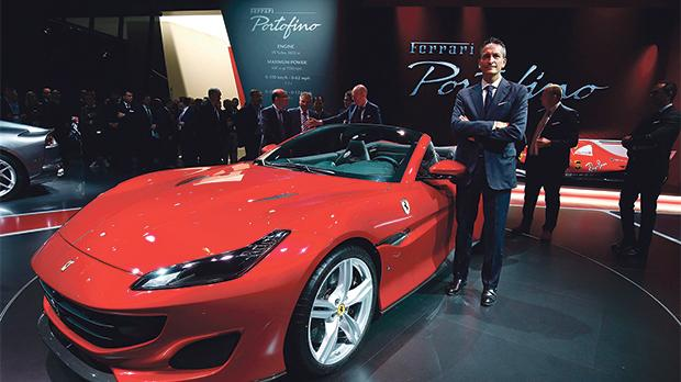 Since the spin-off exercise, the share price of Ferrari increased by circa 140 per cent. Photo: Reuters