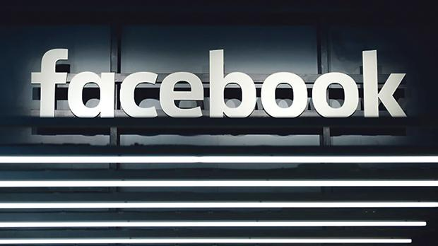 A Facebook logo is pictured at the Frankfurt Motor Show (IAA) in Frankfurt, Germany. Photo: Reuters