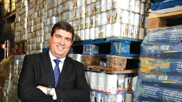Petnutrition managing director Matthew Wismayer says exports to Hong Kong, Malaysia, the Canary Islands and Lithuania have just started. Photo: Darrin Zammit Lupi