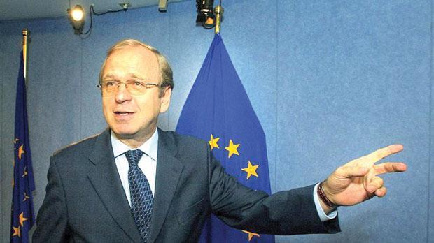 Bank of Finland Governor Erkki Liikanen leads the EU advisory group.