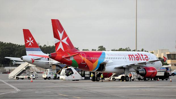 Air Malta registered an operating profit of £400,000.