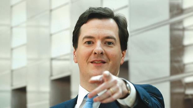 Chancellor George Osborne might seek – possibly after a review – to drop words in the bank's remit that prioritise price stability over growth and employment, which is a secondary goal. Photo: Reuters