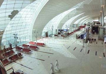 The Emirates' terminal at Dubai International Airport. Photo: Jumana El Heloueh/Reuters