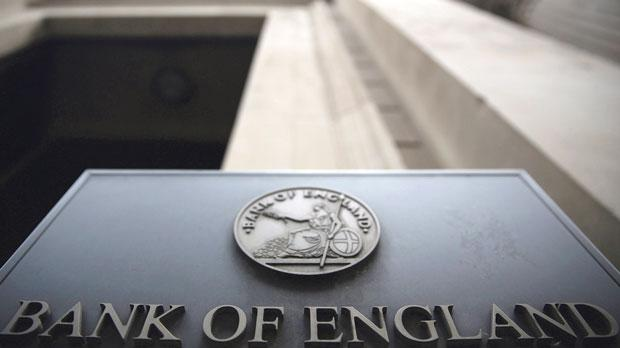 The Bank of England in London. Photo: Neil Hall/Reuters
