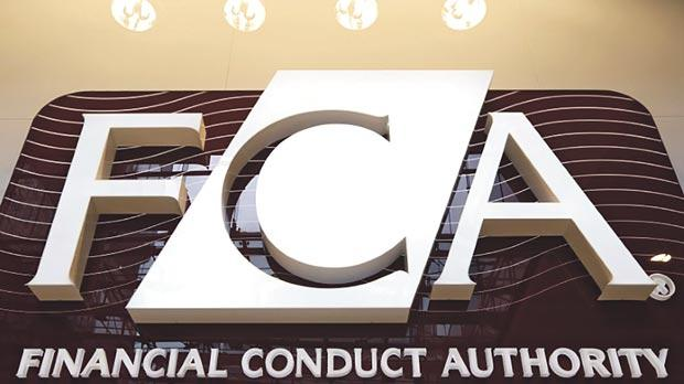 The logo of the new Financial Conduct Authority (FCA) is seen at the agency's headquarters in the Canary Wharf business district of London. Photo: Reuters
