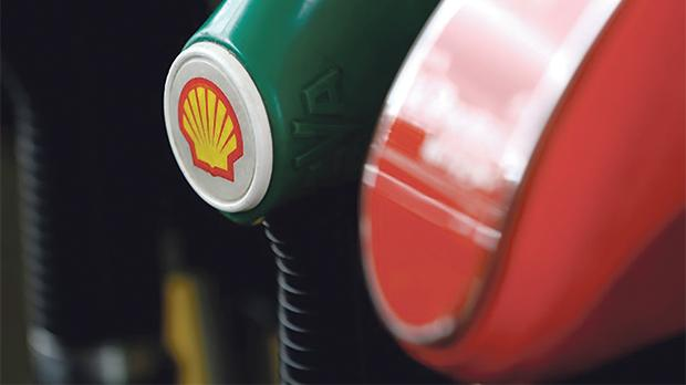 A Shell logo is seen on a fuel pump at a gas station in Warsaw, Poland. Photo: Reuters