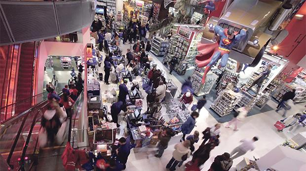 Times Square Toys 'R' Us store on Black Friday in New York