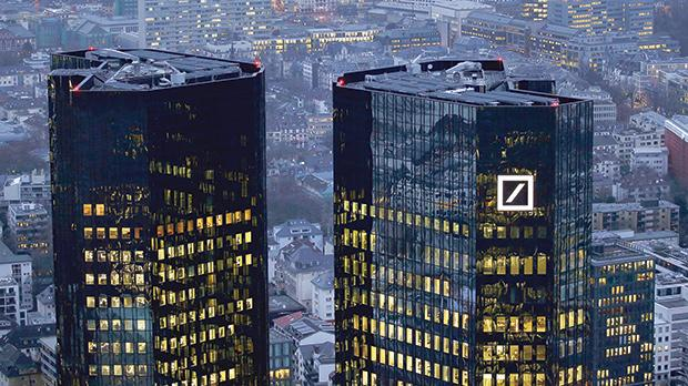 The headquarters of Germany's Deutsche Bank in Frankfurt. Photo: Reuters