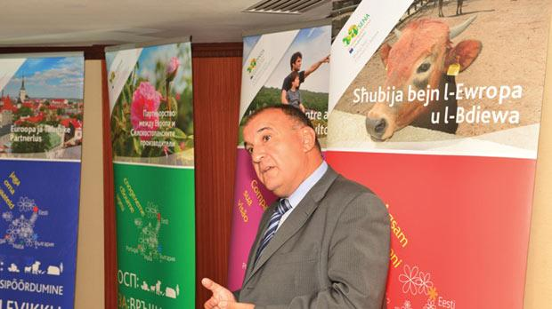 European Commission Representation head Martin Bugelli said Malta's challenges were still its geography and characteristics, such as its type of soil.