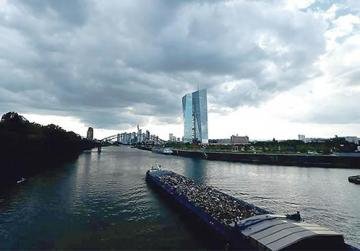 The European Central Bank headquarters in Frankfurt. Photo: Ralph Orlowski/Reuters