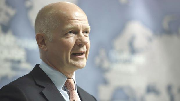 Britain's former Secretary of State for Foreign Affairs William Hague. Photo: Dan Kitwood/Reuters