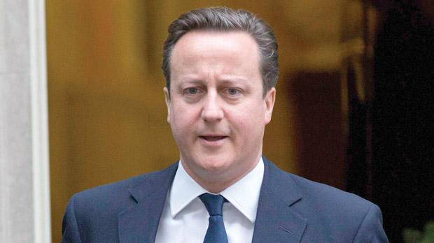 Britain's Prime Minister David Cameron. Photo: Reuters