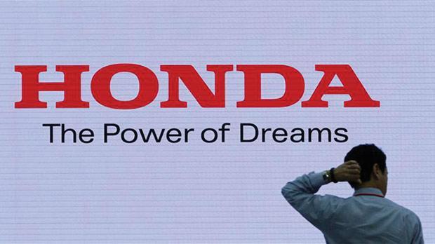 A Honda Logo At The Company Showroom In Tokyo Photo Toru Hanai Reuters
