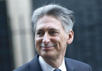 Britain's Chancellor of the Exchequer Philip Hammond. Photo: Neil Hall/Reuters