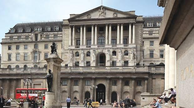 The Bank of England's forecasts are based on market assumptions that it will raise rates in February next year, three months earlier than when the bank published its last forecasts in May.