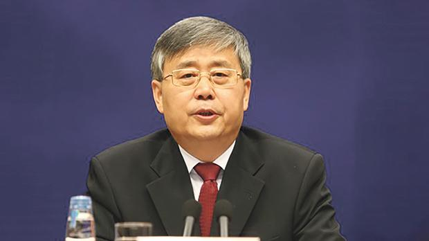 Guo Shuqing, China's newly appointed banking regulator. Photo: Reuters