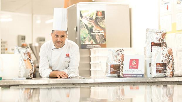 Chef patissier Gaetano Mignano at Maypole Bakery in Qormi.