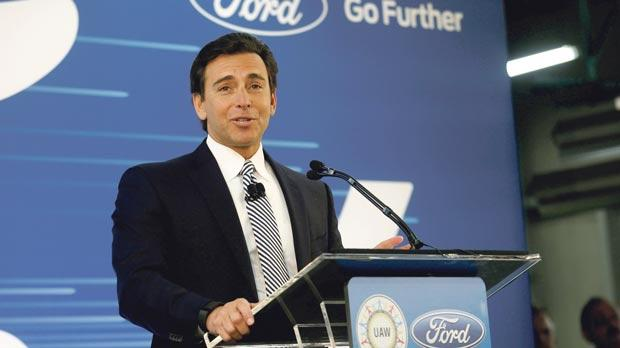 Ford taps former office furniture executive to be new CEO