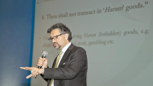Oliver Agha, managing partner of Agha and Co, the Shariah-compliant law firm based in Dubai, gave a presentation themed 'The 10 commandments of Islamic Finance' at last week's Mediterranean Islamic Finance Conference.