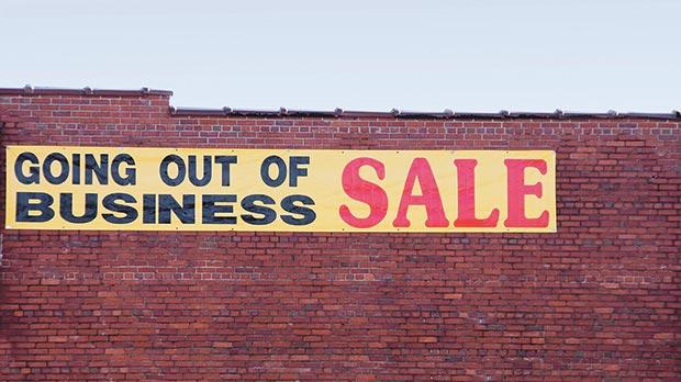 Cost of liquidating a business