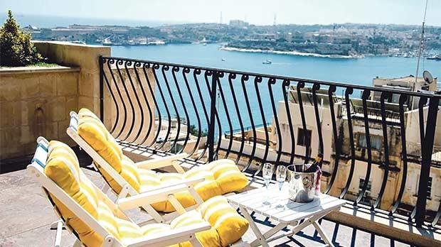Boutique hotels in Valletta offer a unique experience.