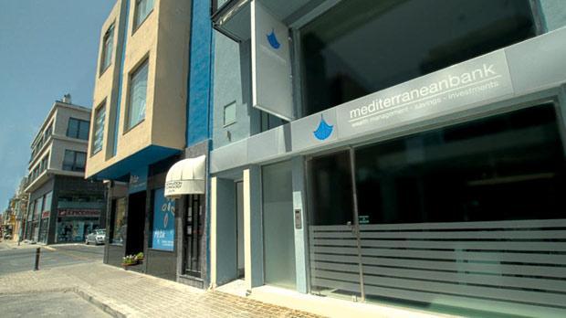 Mediterranean Bank's Mosta branch is managed by Adrian Vella.
