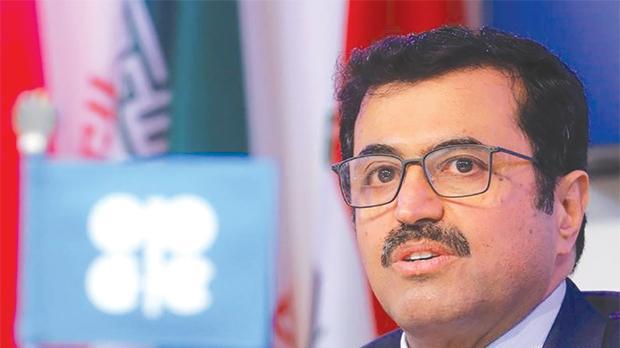Opec president Qatar's Energy Minister Mohammed bin Saleh al-Sada